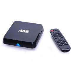 TV BOX ANDROID M8 ORIGINAL (CPU-S802 QUADCORE/2GB DDR3/8GB ROM/AND-4.4)
