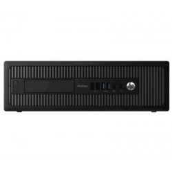 PC SFF HP PRODESK 600 G1 / I7-4770 3.4GHZ / 8GB / 256GB SSD / WIN 7 PRO - WIN 8 PRO