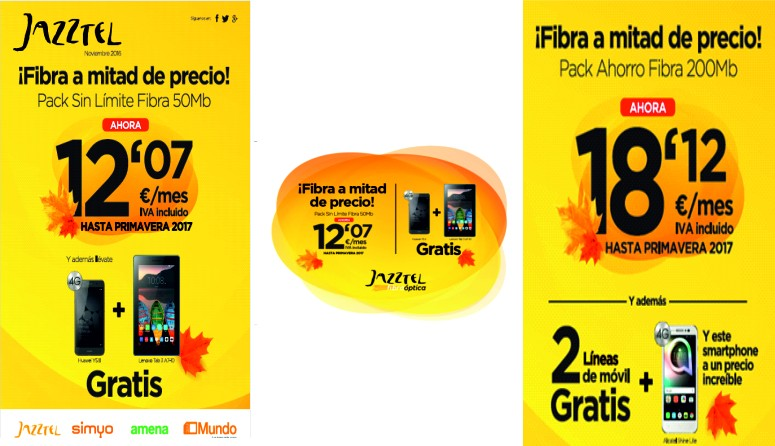 Oferta Jazztel Blackfriday
